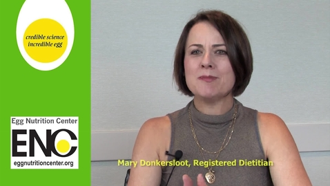 """Thumbnail for entry Egg Nutrition Center: """"Nutrition experts talk protein"""" (2:36)"""