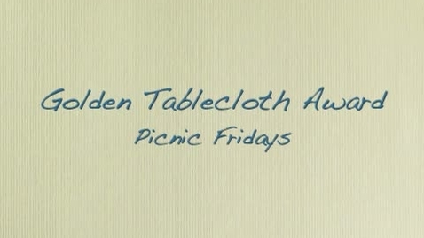 Thumbnail for entry Golden Tablecloth