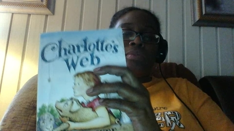 Thumbnail for entry Cheri Goosby-Video Recording - Thu Apr 30 2020-Charlotte's Web