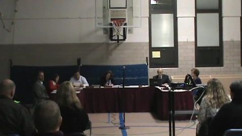 Thumbnail for entry BOE Meeting, 12/1/14 - Part 1
