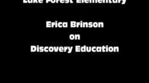 Thumbnail for entry Erica Brinson on Discovery Education