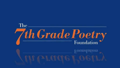 """Thumbnail for entry """"Gone Forever"""" by Faith   2014 7GP 7th Grade Poetry Contest"""