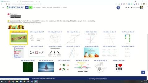 Thumbnail for entry Math xl walk through
