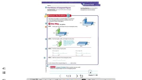 Thumbnail for entry Lesson 11.11 pt. 1