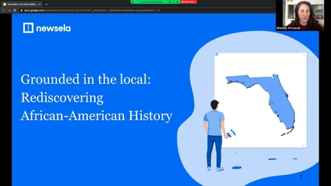 Thumbnail for entry FCSS Virtual Spring Conference: Grounded in the local: Rediscovering African-American History
