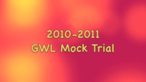 Thumbnail for entry Mock Trial Slideshow