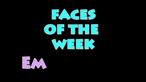 Thumbnail for entry Faces of the Week:  Emoji