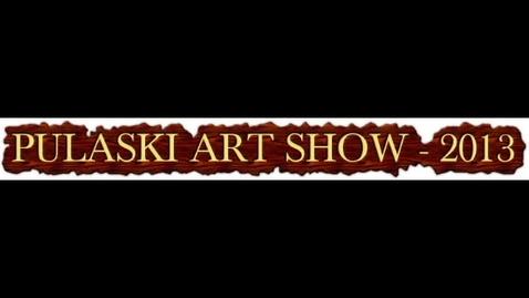 Thumbnail for entry High School Art Show - 2013