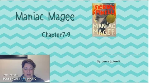Thumbnail for entry Maniac Magee Ch 8-9