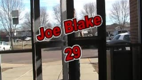 Thumbnail for entry About Joe Blake by Jayson Wickre