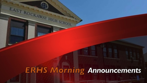 Thumbnail for entry ERHS Morning Announcements 1-4-21