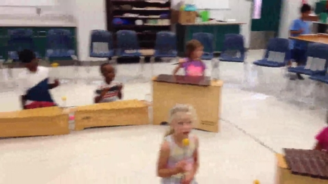 "Thumbnail for entry 14-15 Ms. Newhouse's kindergarten class ""Little Green Frog"""