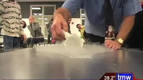 Thumbnail for entry Fun with Liquid Nitrogen