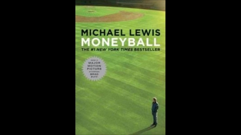"Thumbnail for entry ""Moneyball"", By: Michael Lewis"