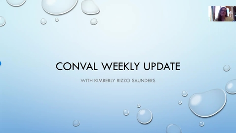 Thumbnail for entry ConVal Remote Learning Update May 22, 2020