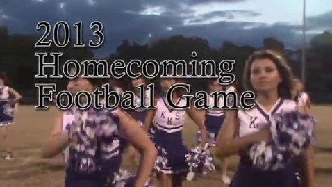 Thumbnail for entry 2013 Homecoming Highlights