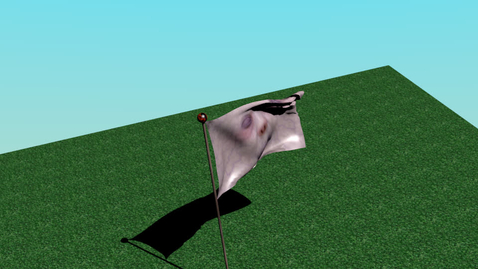 Thumbnail for entry Marc's scary blender flag