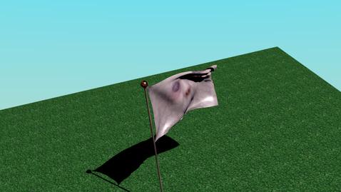 Thumbnail for entry Marc's scary blender flag