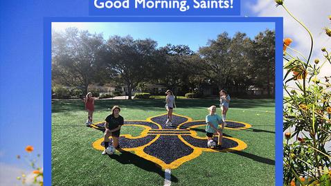Thumbnail for entry Saints @ 8 - April 16, 2021