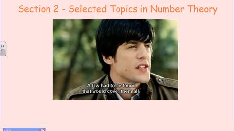 Thumbnail for entry Fermat and Goldbach
