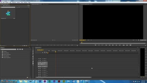 Thumbnail for entry Premiere Tutorial 1