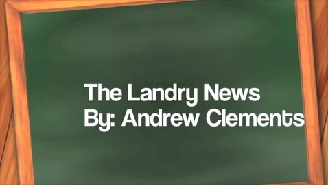 Thumbnail for entry The Landry News