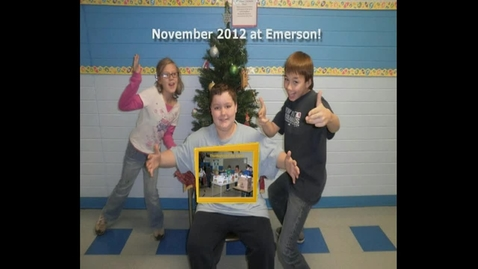 Thumbnail for entry November 2012 at Ralph Waldo Emerson Elementary School