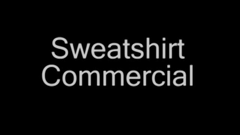 Thumbnail for entry Salty sweatshirt commercial