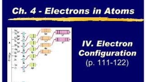 Thumbnail for entry Chemistry Chapter 4.3b