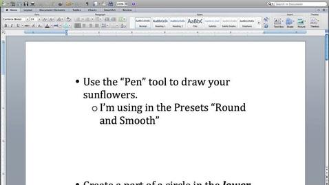 Thumbnail for entry Georgia O'Keeffe Sunflower 1