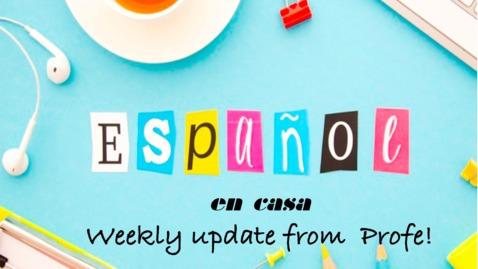 Thumbnail for entry Grade 1 weekly greeting 16 de junio