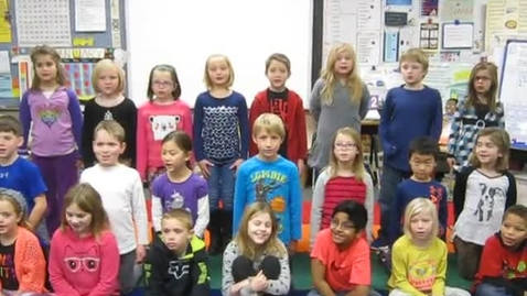 Thumbnail for entry Second Grade Students Recite Dr. King's Speech 2016