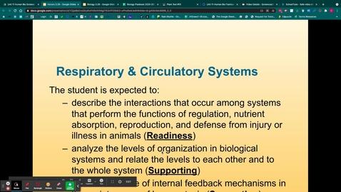 Thumbnail for entry Respiratory & Circulatory Notes