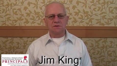 Thumbnail for entry Jim King Welcome Message