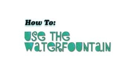 Thumbnail for entry Water Fountain and Cell Phone How To