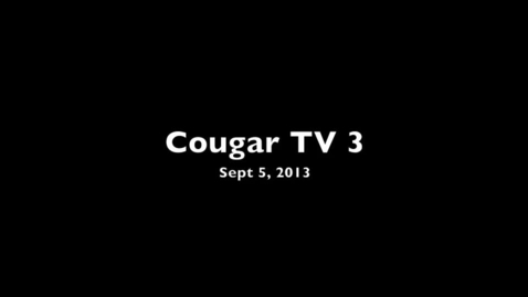 Thumbnail for entry Charleston, WV Capital High Cougar TV 3