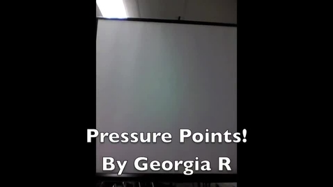 Thumbnail for entry Pressure Points