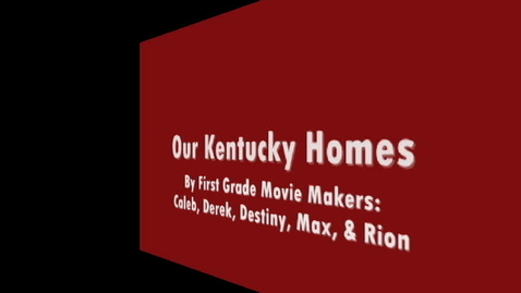 Thumbnail for entry Our Old Kentucky Homes