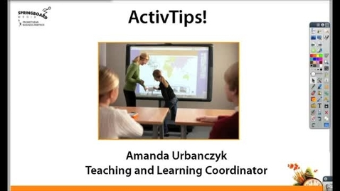 Thumbnail for entry Adding images to your Promethean flipchart