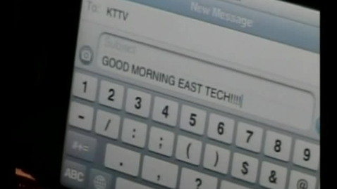 Thumbnail for entry 04-13-11 Good Morning East Tech Friday Edition