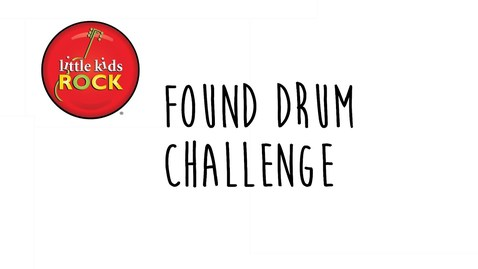 Thumbnail for entry Little Kids Rock: Found Drum Challenge with Dave Wish - Build A Drum Set