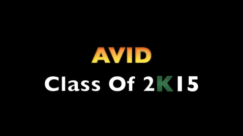Thumbnail for entry 2015 Avid Video PTHS