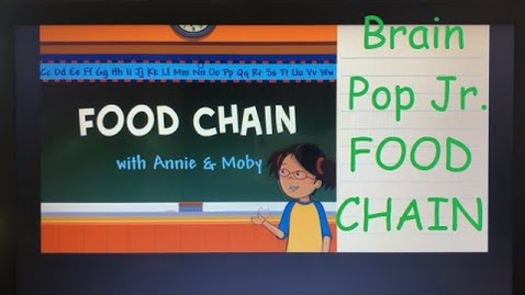Thumbnail for entry Food Chain - Brain Pop Jr.