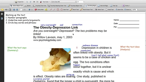 Thumbnail for entry Obesity and Depression (Pg 3 Par 1-3)
