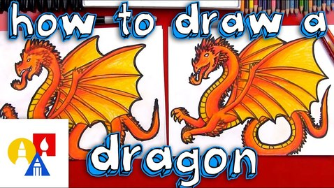 Thumbnail for entry How To Draw A Dragon