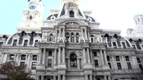 Thumbnail for entry Occupy City Hall