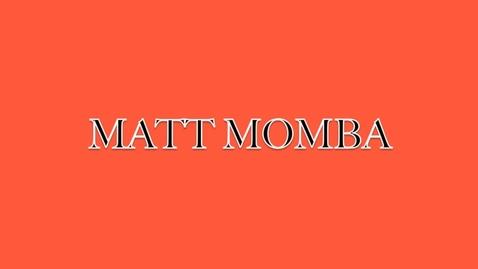 Thumbnail for entry Matt Momba Selfie