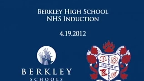 Thumbnail for entry BHS NHS Induction 2012