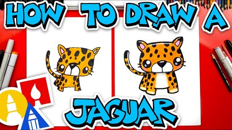 Thumbnail for entry How To Draw A Cartoon Jaguar