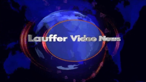 Thumbnail for entry Lauffer Video News- Last one of 2014-2015!